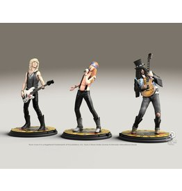 Knucklebonz GUNS-N-ROSES Rock Iconz Statue 3-Pack - Limited Edition