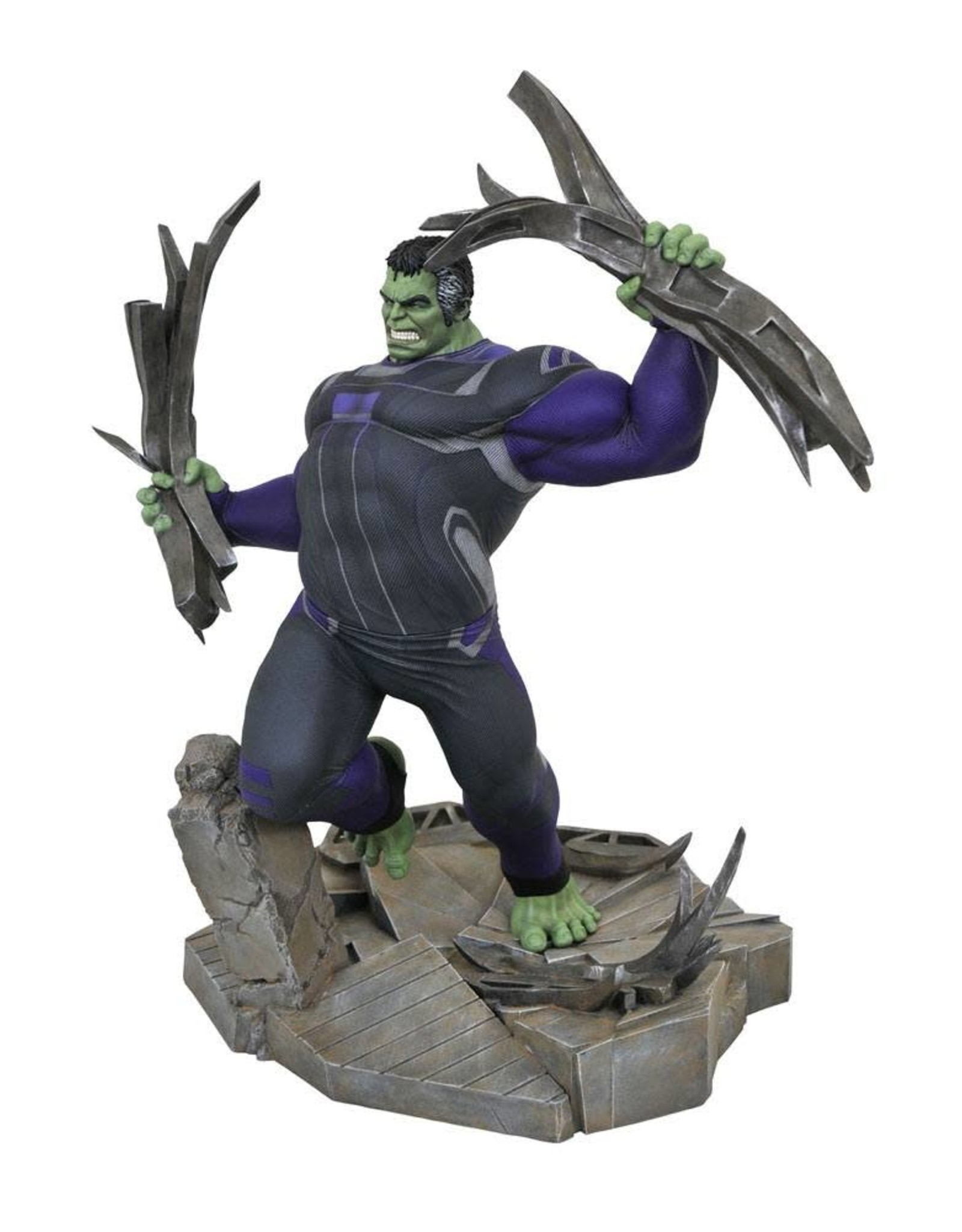 Diamond Select AVENGERS ENDGAME Diorama Comic Gallery 23cm - Tracksuit Hulk