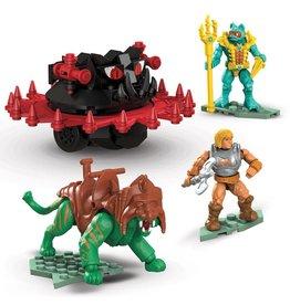 Mattel MASTERS OF THE UNIVERSE Mega Construx Probuilders Construction Set - Battle Cat vs. Roton