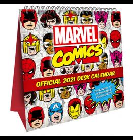 Danilo MARVEL COMICS Desk Easel Calendar 2021 (UK)