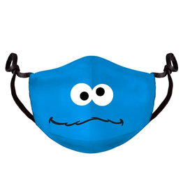 Difuzed SESAME STREET Adult Face Mask - Cookie Monster