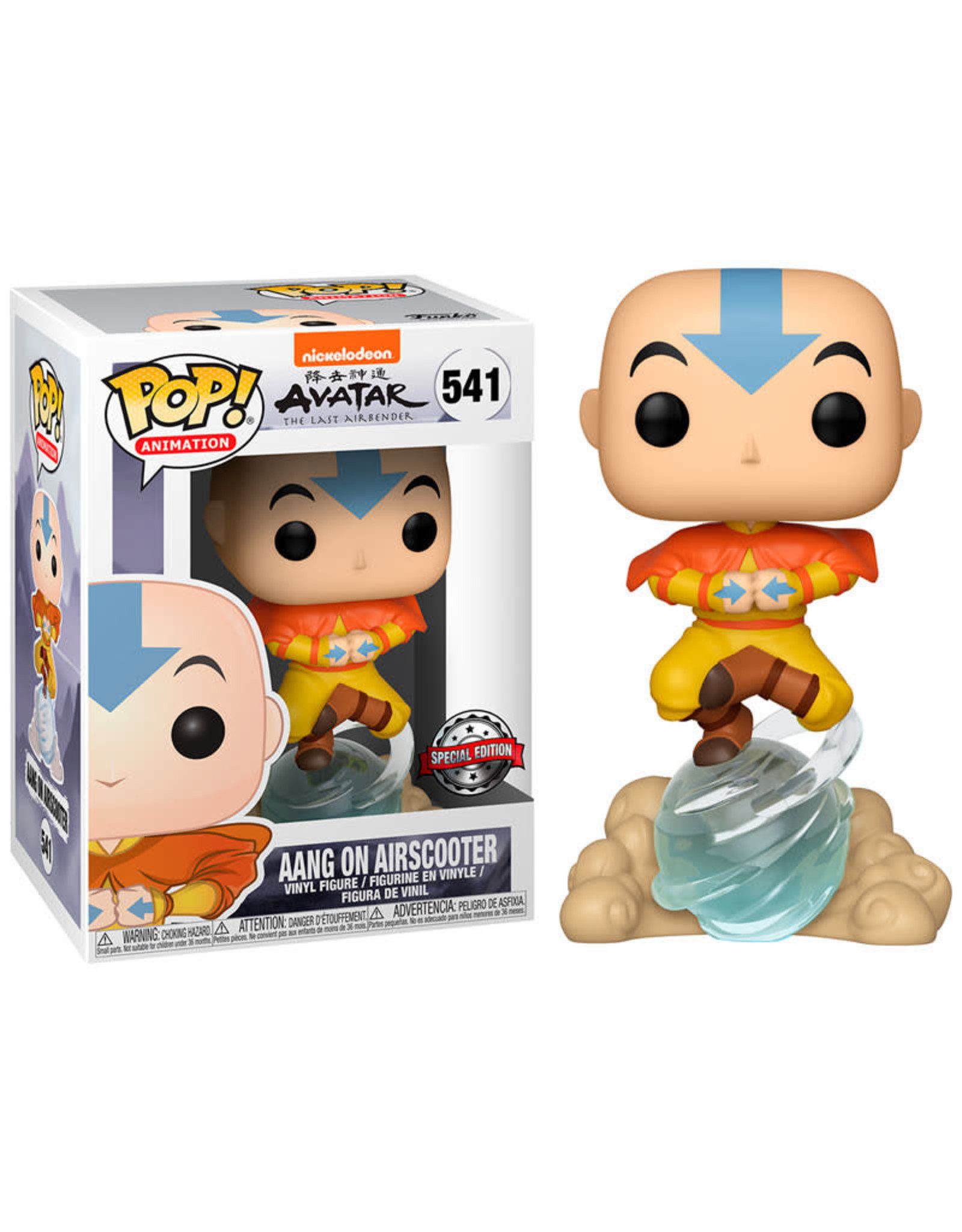 Funko AVATAR POP! N°541 9cm - Aang on Airscooter Exclusive