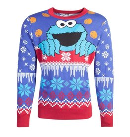 Difuzed SESAME STREET Christmas Sweater - Cookie Monster