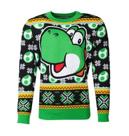 Difuzed SUPER MARIO Christmas Sweater - Yoshi