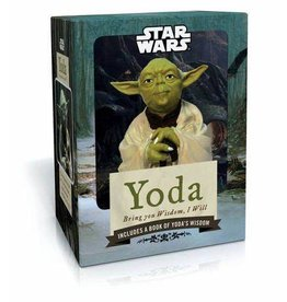 Abrams & Chronicle STAR WARS Figure and Book - Yoda: Bring You Wisdom, I Will
