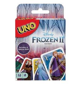 Mattel FROZEN II UNO Playing Cards (UK)