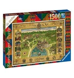 Ravensburger HARRY POTTER Puzzle 1500P - Hogwarts Map