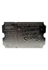 FaNaTtik BACK TO THE FUTURE Replica Enchantment Under The Sea Ticket Limited Edition (silver plated)