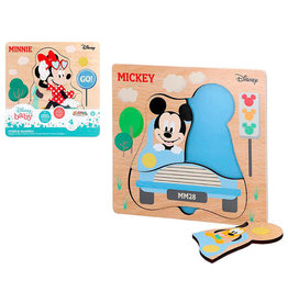 Woomax MICKEYMINNIE MOUSE Puzzle 4p