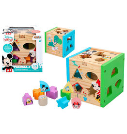 Woomax MICKEY & MINNIE MOUSE Shape Sorter Cube