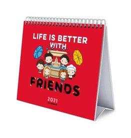 Danilo FRIENDS Desk Easel Calendar 2021 (UK)