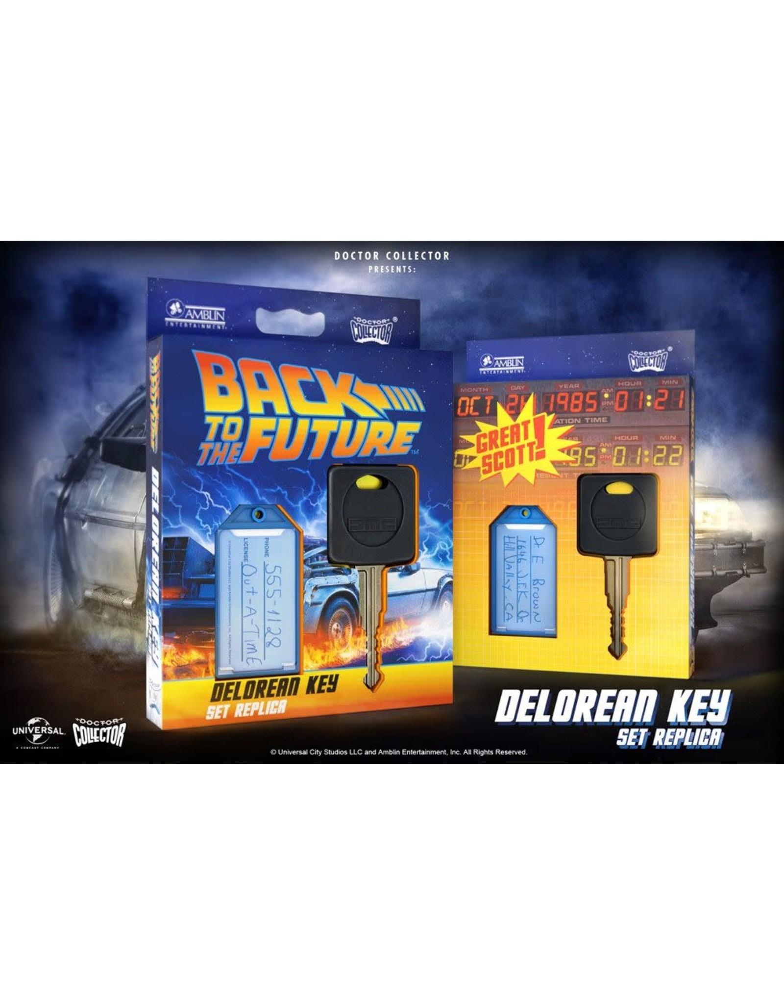 Doctor Collector BACK TO THE FUTURE Replica DeLorean Key