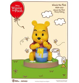 Beast Kingdom WINNIE THE POOH Mini Egg Attack Figure 8cm - Pooh Eating Honey