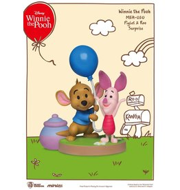 Beast Kingdom WINNIE THE POOH Mini Egg Attack Figure 8cm - Piglet & Roo Surprise