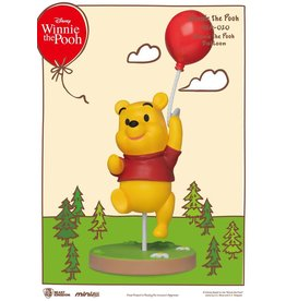 Beast Kingdom WINNIE THE POOH Mini Egg Attack Figure 8cm - Pooh with Balloon
