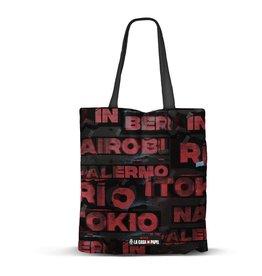 KARACTER MANIA LA CASA DE PAPEL Shopping Bag - Cities
