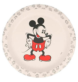 Stor MICKEY MOUSE Bamboo Plate - 90 years