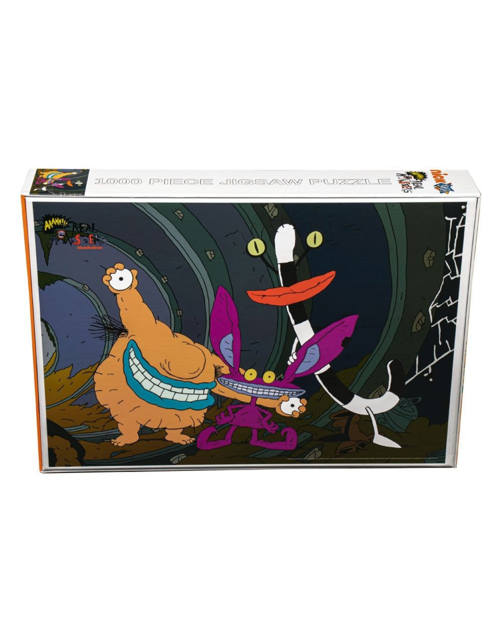 Ikon Collectables AAAHH!!! REAL MONSTERS Puzzle 1000P - Sewer Tunnel