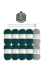 Eaglemoss HARRY POTTER Scarf Knit Kit - Slytherin