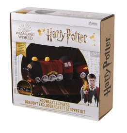 Eaglemoss HARRY POTTER Draft Stopper Knit Kit - Hogwarts Express
