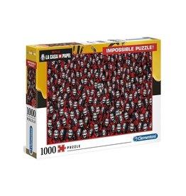 Clementoni LA CASA DE PAPEL Impossible Puzzle 1000P