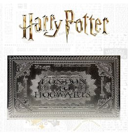 FaNaTtik HARRY POTTER Replica Hogwarts Train Ticket Limited Edition (silver plated)