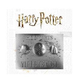 FaNaTtik HARRY POTTER Replica Yule Ball  Ticket Limited Edition (silver plated)