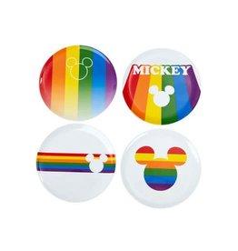 Funko MICKEY MOUSE Set of 4 Plates - Rainbow