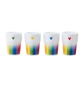 Funko MICKEY MOUSE Tumblers 4-Pack - Mickey Rainbow