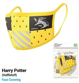 Pyramid International HARRY POTTER Premium Face Mask Covers pack of 2- Hufflepuff