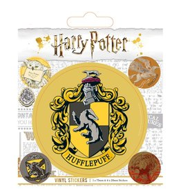 HARRY POTTER Vinyl Stickers - Hufflepuff