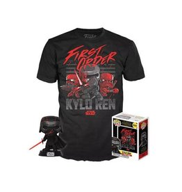 Funko STAR WARS POP! & Tee Box - Kylo Ren (Supreme Leader) Exclusive (M)
