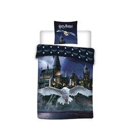 HARRY POTTER Duvet set 100% Cotton/Flannel 140X200cm - Hedwig