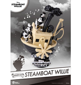 Beast Kingdom MICKEY MOUSE D-Stage Diorama 16cm - Steamboat Willie