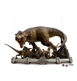 Iron Studios JURASSIC PARK Demi Art Scale Statue 1/20 48 cm - The Final Scene