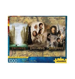 Aquarius Ent LORD OF THE RINGS Puzzle 1000P - Triptych
