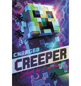 Hole in the Wall MINECRAFT Poster 61X91cm - Charged Creeper