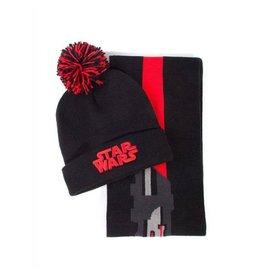 STAR WARS Beanie & Scarf Set - Darth Vader