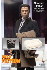 Star Ace Toys PULP FICTION My Favourite Movie 1/6 Scale Model 30cm - Vincent Vega 2.0 (Pony Tail) Deluxe Version