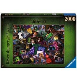 Ravensburger VILLAINOUS Puzzle 2000P - All Villains