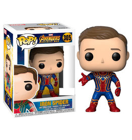 Funko AVENGERS INFINITY WAR POP! N° 305 - Iron Spider Exclusive