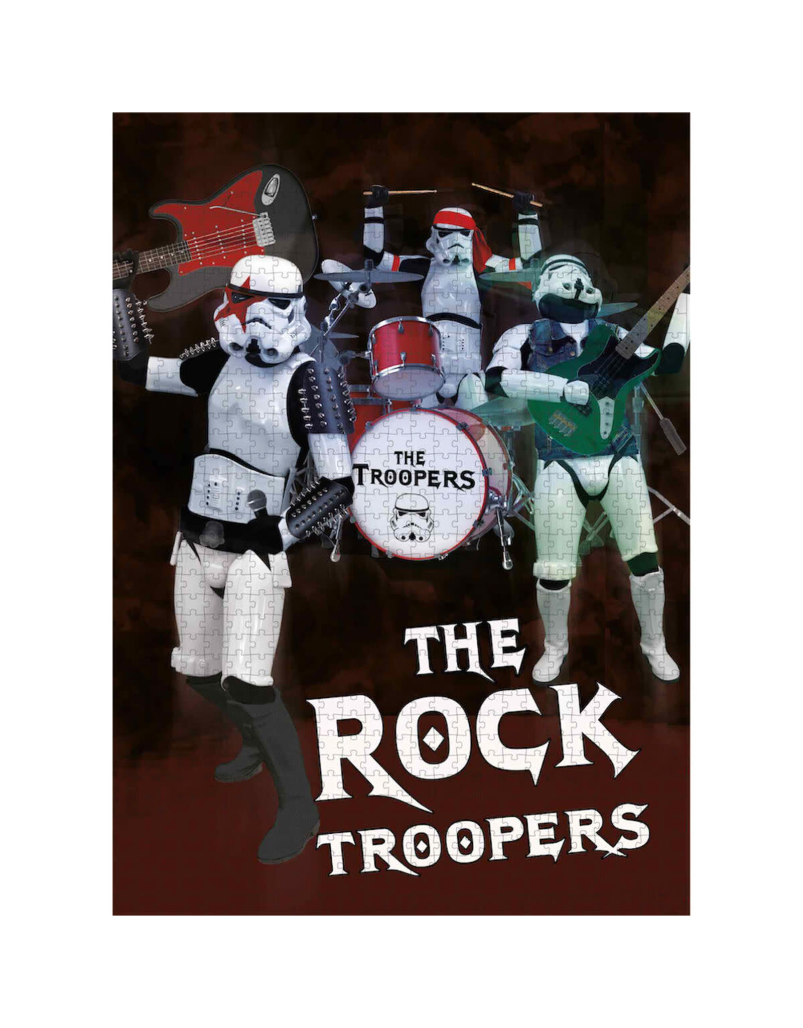 SD Toys STAR WARS Puzzle 1000P - The Rock Troopers