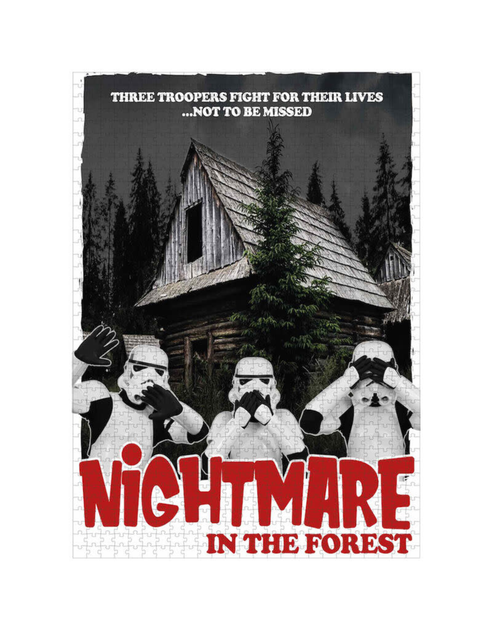 SD Toys STAR WARS Puzzle 1000P - Nightmare in the Forest