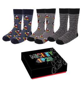 Cerda MICKEY MOUSE Set of 3 Socks (35-41)