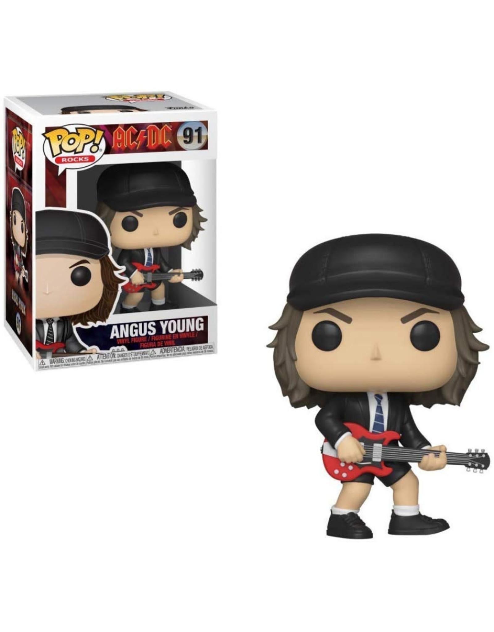 Funko AC/DC POP! N°91  - Angus Young