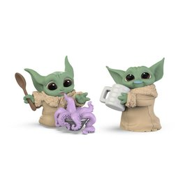 Hasbro STAR WARS Bounty Collection 2-Pack 5.5cm - Mandalorian: The Child Tentacle Soup & Milk Mustache