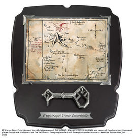Noble Collection THE HOBBIT Thorin's Key and Map