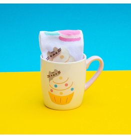 thumbsUp! PUSHEEN Mug  & Socks Set