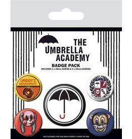 Pyramid International THE UMBRELLA ACADEMY 5-Pack Badges