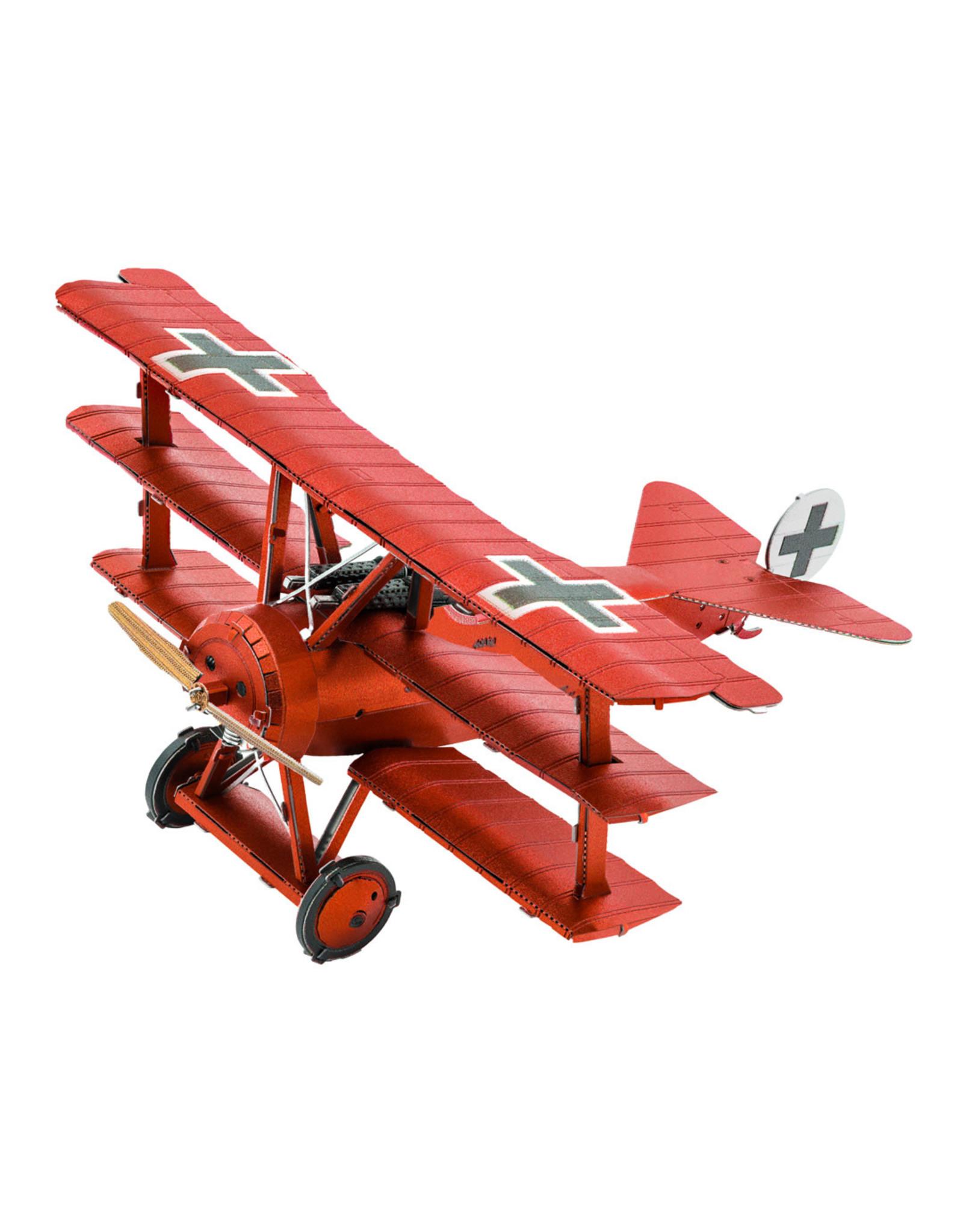 Metal Earth RED BARON Metal Earth - Tri-Wing Fokker